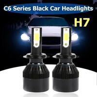 2pcs C6 LED Car Headlight Bulb H1 H3 H4 H7 H11 9005 9006 36W COB Headlamps