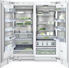"NIB Thermador Gaggenau 60"" Integrated Refrigerator freezer RC472701 / RF471701 photo"