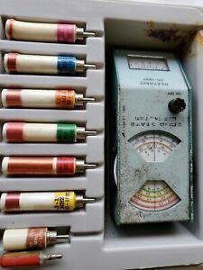Heathkit HD-1250 Grid Dip Meter Coils Case Ham Radio Test Equipment untested