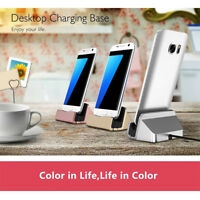 Type C/Micro USB Phone Charger Charging Dock Station Stand for Android Wide