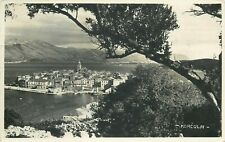 Croatia Korcula panorama photo postcard