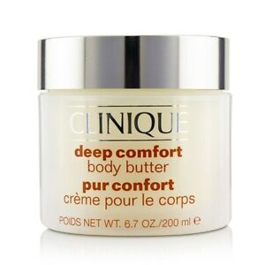 NEW Clinique Deep Comfort Body Butter 200ml Womens Skin Care