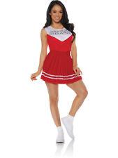 Women's Red Cheerleader Cheer Costume