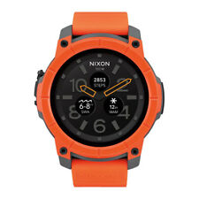 Nixon Mission - Orange/Grey/Black 48mm Smartwatch
