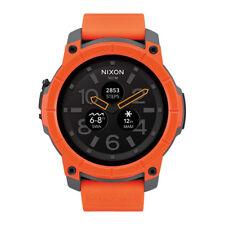 Nixon Mission - Orange/Grey/Black 48mm Smartwatch