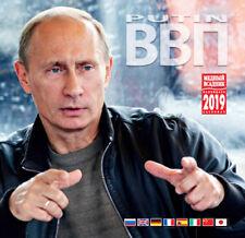 """PEACEMAKER"" 2019 Putin's russian KGB FSB propaganda wall calendar - 8 languages"
