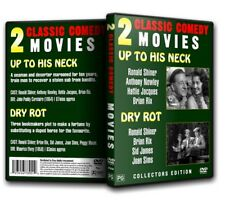 UP TO HIS NECK / DRY ROT - Sid James Joan Sims R Shiner (2for1) DVD 1954/1956