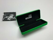 Love Moschino Case Glasses Green Sunglasses Authentic Spectacle  Hard Case