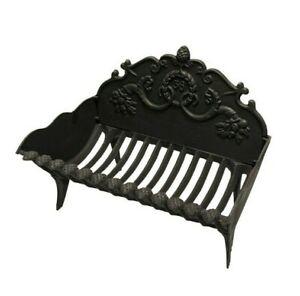Antique Cast Iron Fire Basket