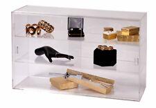 2-Shelf Acrylic Countertop Display Case (Comes with lock & key)