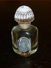 """Vintage Royal De Rauch Miniature Collectible Bottle Glass Stopper 3"""" Tall"""