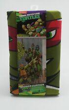 "Nickelodeon Teenage Mutant Ninja Turtle Shower Curtain Tmnt 72"" x 72"""