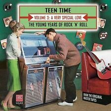 New CD Teen Time 3 V/A 1957-64 Rare Hits Eric Hard To Find 45s On CD Series OOP