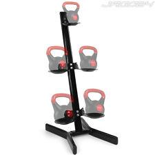 Steel Kettlebell Weight Rack Bar Display Stand Storage Gym Fitness Equipment