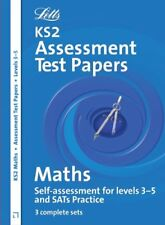 Letts Key Stage 2 Practice Test Papers - Maths SATs: Levels 3-5 By Jason White