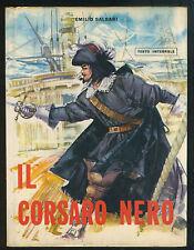 EMILIO SALGARI - IL CORSARO NERO - ILL.RE TOFFOLO - JANUS 1968 [*C-172]