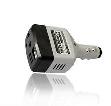 Car Mobile Converter XS Inverter DC 12V/24V to AC 220V Charger IU Power+USB