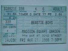 Beastie Boys Msg Concert Ticket Stub 1998
