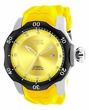 Invicta Silicone/Rubber Band Mechanical (Automatic) Watches