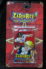Zatchbell The Card Battle - Booster Pack - Red - Ban Dai - 2005 New in Package