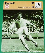FOOTBALL STADE DE REIMS LEON GLOVACKI TROYES MONACO SAINT-ETIENNE FRANCE