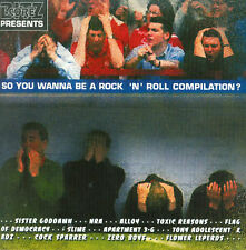 Sister Goddamn TOXIC REASONS Zero Boys COCK SPARRER CD