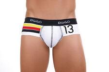 """XL 34""""-38"""" WHITE GERMANY  Authentic GIGO Cotton Lycra Brief Underwear"""