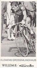 KLEMENS GROSSIMLINGHAUS Wielrennen WILLEM II Gazelle 60s Cyclisme Ciclismo vélo