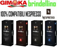 1000 Cialde Capsule caffè Gimoka A SCELTA Espresso compatibili NESPRESSO PIXIE