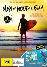 The Men Of Wood And Foam / History Of Australian Surfing (DVD, 2017, 2-Disc Set)