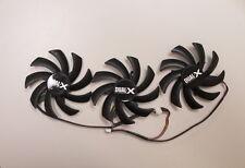 85mm Fan set PLD09210D12HH Sapphire Tri-X R9 290 290X 390 390X Video Card USA