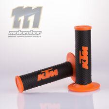 22mm Orange MX Hand Bar Grips Honda Suzuki Kawasaki Yamaha KTM Thumper Enduro