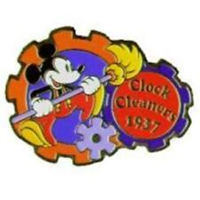 MICKEY MOUSE CLOCK CLEANERS 1937 DISNEY TOKYO PIN 3704