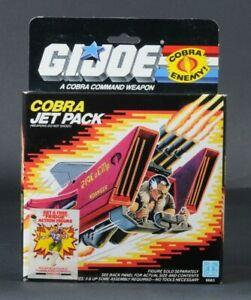 1987 Hasbro GI Joe Cobra Jet Pack MISB Sealed Box