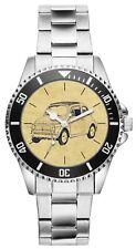 Geschenk für Fiat Nuova 500 Oldtimer Fan Fahrer Kiesenberg Uhr 6236
