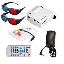 Mini Portable LED 3D Projector 1080P Multimedia Home Theater VGA USB HDMI SDCard