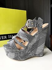 River Island Designer Ladies Women High Heel Sandal Shoe Platform Size 5 38