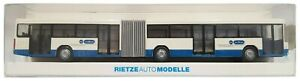 1:87 Scale Rietze 61707 Mercedes Benz O305G Articulated Bus - VBZ Zürich - BNIB