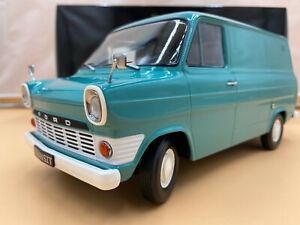 1/18 Ford Transit Lieferwagen türkis 1965 KK Scale KKDC180492 lim. 750 Stück OVP