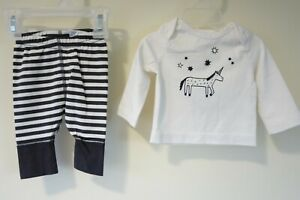 Brand New Hanna Andersson Organic Cotton Outfit Size Newborn