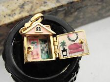 Juicy Couture Home Sweet Home House Doll House Charm Bracelet Pave YJRU5082