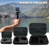 Portable Handle Bag Shockproof Storage Case for GoPro Hero Action Camera Adapter