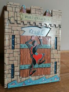 Collectable Books I Wish I Could Be a Knight, Pop Up Illustrated Childrens Book.
