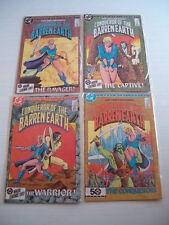 CONQUEROR OF THE BARREN EARTH #1-4 SET DC COMICS (4)