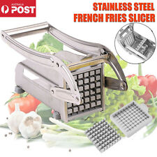 Stainless Steel French Fries Slicer Potato Chipper Chip Cutter Chopper Tool ZZ
