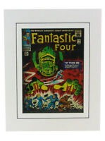Fantastic Four #49 Cover Art Print Matted Jack Kirby Galactus Marvel Comics New