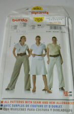sewing pattern summer blouse size 10 to 22