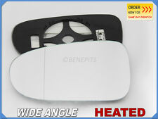Wing Mirror Glass For FORD GALAXY 1995-2005 Wide Angle HEATED Left Side #1022