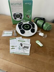 Boxed Revitive Arthritis Knee Circulation Booster Rrp £299 Blanket Etc