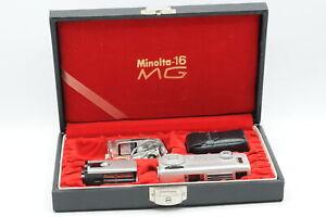 Minolta-16 MG 16mm Spy Miniature Camera Set with Case #420